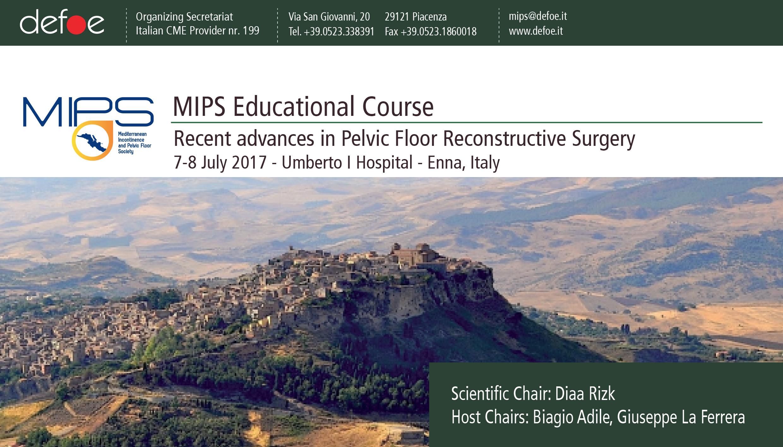 MIPS Educational Course | Recent Advances In Pelvic Floor Reconstructive Surgery