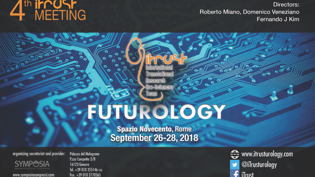 4° ITRUST Meeting: FutUrology –